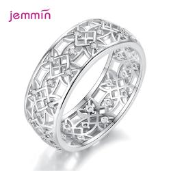 Ezüst női cirkónia köves gyűrű
